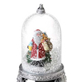 Анимиран сняг в стъклена играчка