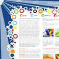 Дизайн на сайт от векторни елементи