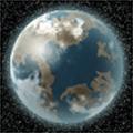 Въртяща се планета