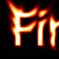 Реалистичен огнен текст*