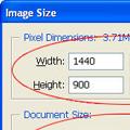 Как да промерим размера, завъртим и изрежем снимка