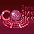 Стилно лого в диско стил