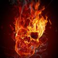 Огнен череп