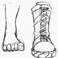 Как се рисува аниме и манга / Тяло > Крака
