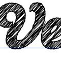 Превръщане на шрифт в скициран шрифт