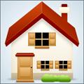 Икона с къща