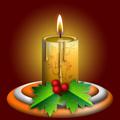 Оригинална коледна свещ