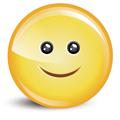 Усмихната векторна икона