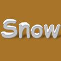 Текст със сняг
