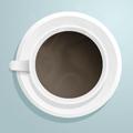 Чашка с кафе